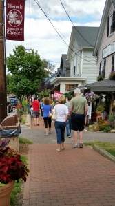 Chester along Main Street on an August Afternoon...